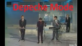 Depeche Mode - Just can't get enough Live on french tv Rare