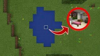 căn hầm bí mật bằng đá đỏ trong minecraft