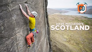 The Wild Side Of Scottish Climbing With Dave MacLeod   Climbing Daily Ep.1536