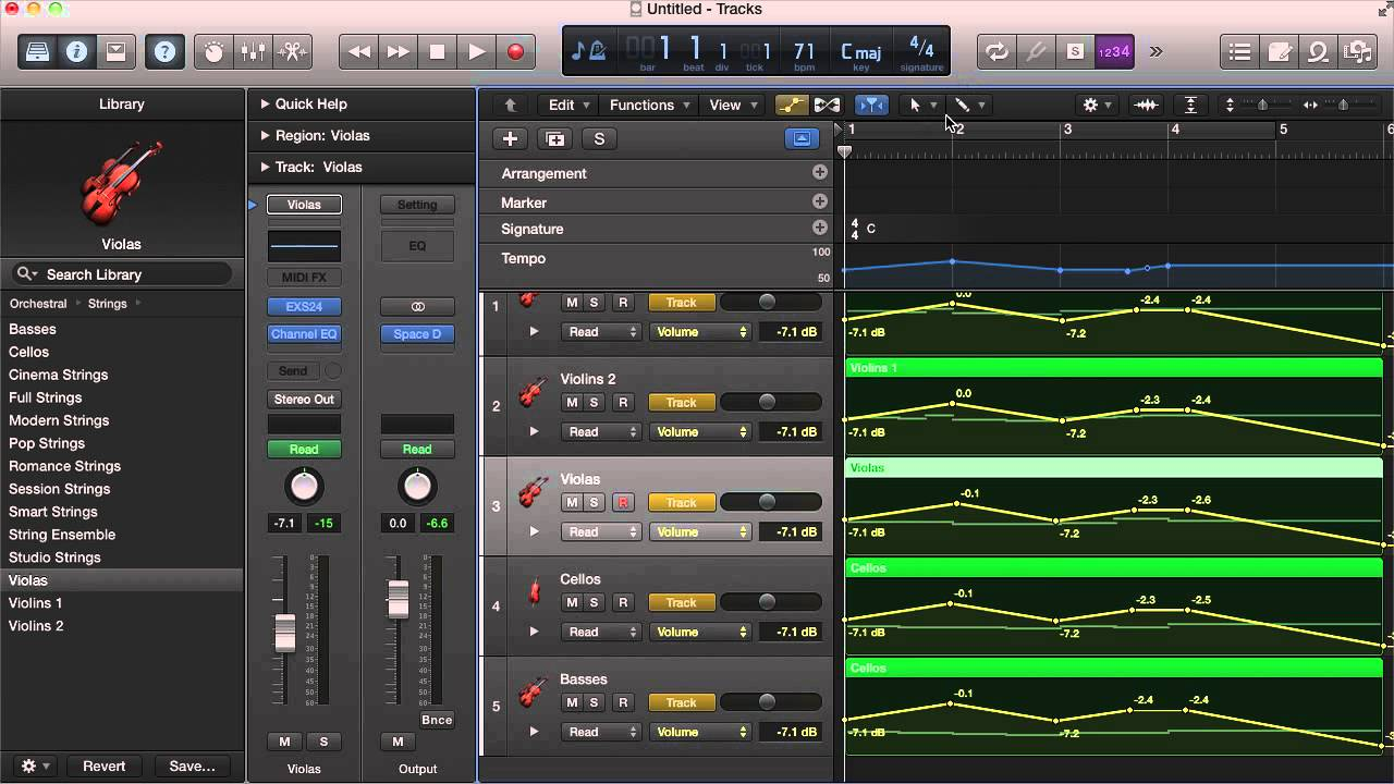 How to Make Logic X Built-in Strings Sound Good (Tutorial)
