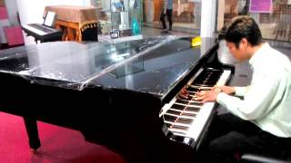 Eait Ma Pyaw Thaw Nya Myar ( Sandayar Hla Htut ) piano cover by Aung Htun