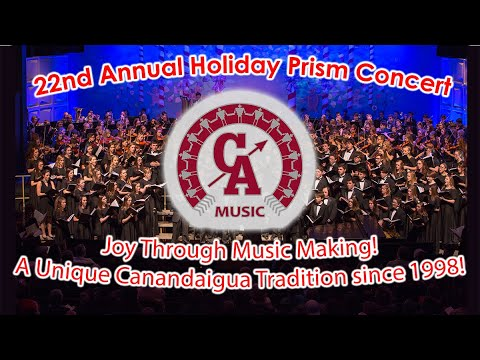 Canandaigua Middle School Holiday PRISM Concert 2020