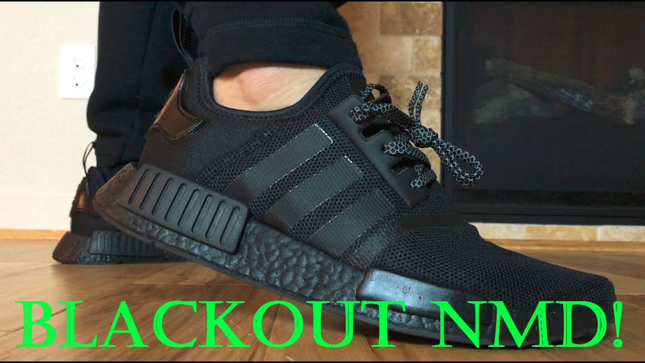 Adidas Nmd Runner Blackout