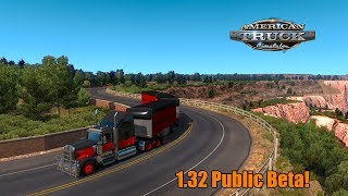 1.32 Public Beta l Trailer Ownership! American Truck Simulator {G29}