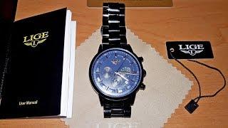 Мужские часы LIGE. Обзор и мнение