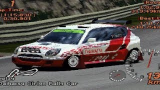 Gran Turismo 2 - Daihatsu Storia Rally Car REVIEW