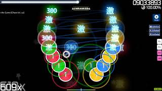 Cytus 2 charts as osu! beatmaps