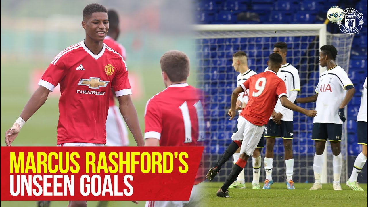 Download Marcus Rashford's 'Unseen' Goals! | The Academy | Manchester United