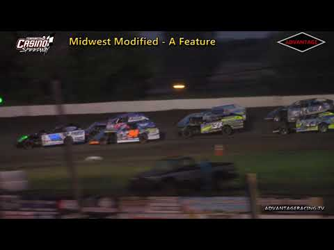 Midwest Modified Feature - Casino Speedway- 6/3/18