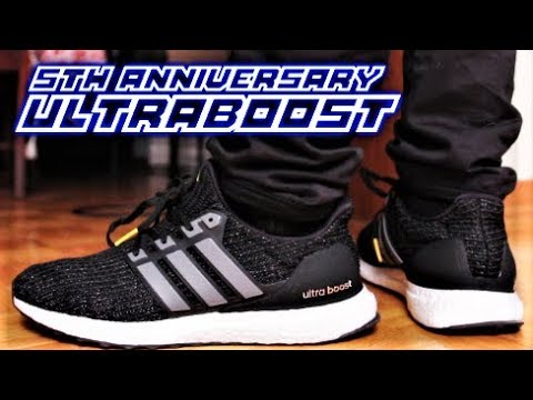 73e27b94bb1 Adidas Ultra BOOST 4.0 5th Anniversary REVIEW