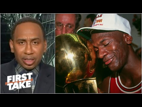 Stephen A.: MJ's 1st 3-peat Was Better Than The 2nd | First Take