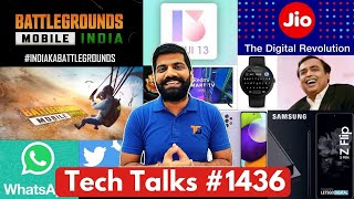 Tech Talks # 1436 - Battlegrounds Mobile India Update, Realme Hacked, Jio Price Rise, MIUI 13, A52 5G