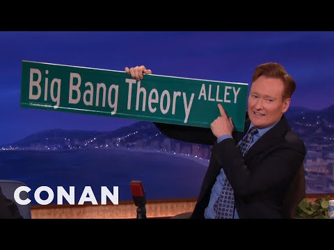 "Thumbnail: ""The Big Bang Theory"" Got A Street Named After Them - CONAN on TBS"