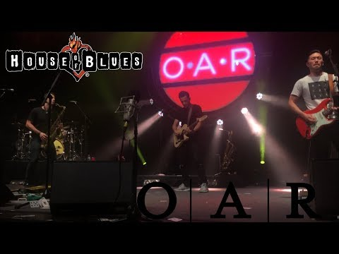 O.A.R Miss you all the times (house of blues) August 4,2018 Orlando Fl