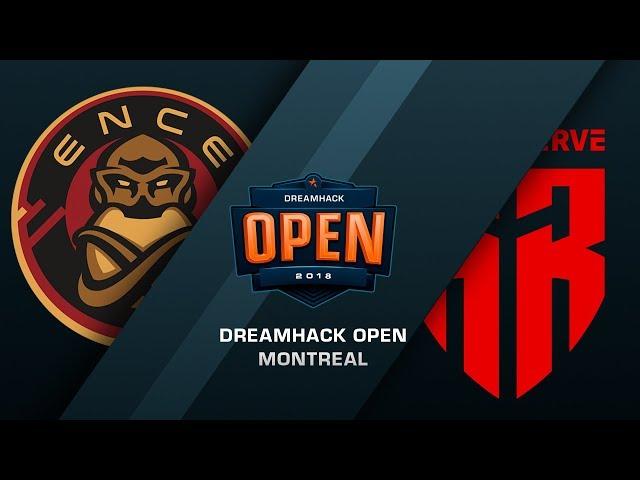ENCE vs Red Reserve - DreamHack Open Montreal - de_mirage [Enkanis, ceh9]