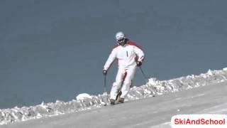 ★Карвинг Лыжи★ Урок 17 Как скользить на параллельных лыжах