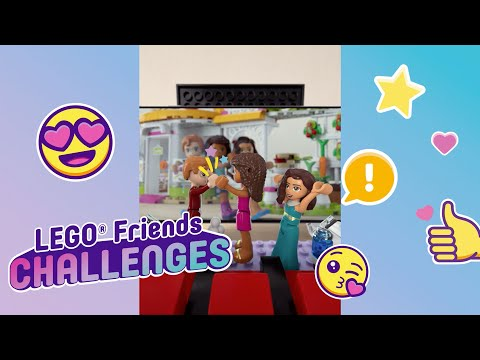 LEGO Friends Challenge time! Friendship Story Challenge in the cinema.
