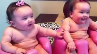 Video Lucu : 2 Bayi Kembar Nangis, Ketawa, Nangis Lagi