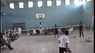 university badminton final