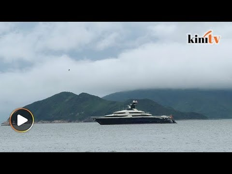 Kapal layar Jho Low berlabuh di Aceh