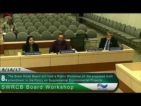 SWRCB Board Workshop 081617