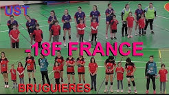 HANDBALL  -18F France / Tyrosse vs Bruguières