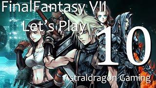 Final Fantasy VII | Let's Play 10 | Cloud gets a real Hog