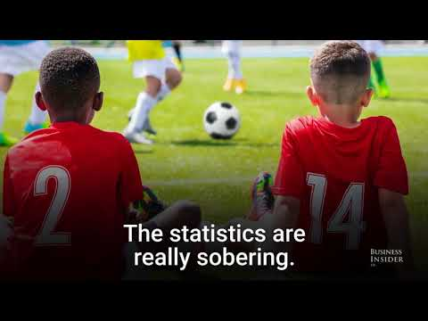 Children at football academies are more likely....