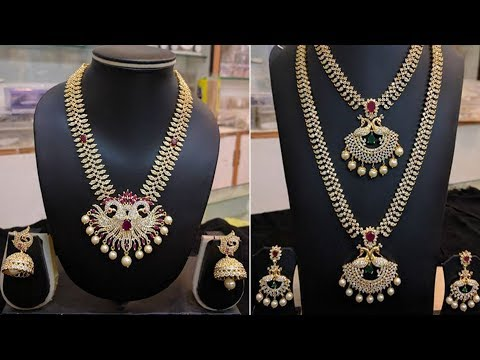 Latest Collection of Designer 1 gram Gold||All jewellery fashionable collection
