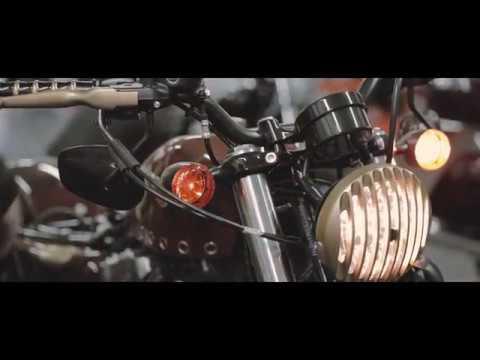 Captain Fawcett's Harley-Davidson HD-48 Sportster