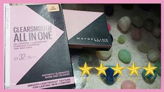 Maybelline All in One Compact Powder Full Review Best pressed powder for oily skin