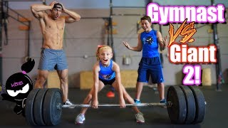 Download Gymnast vs Giant 2!  Who is stronger, Payton or the Bodybuilder? Mp3 and Videos