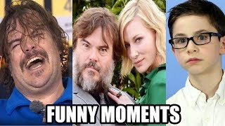 The House with a Clock in Its Walls Bloopers and Funny Moments - Jack Black & Cate Blanchett