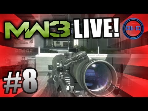 """WHERE IS EVERYONE!?"" - MW3 LIVE #8 w/ Ali-A - (Modern Warfare 3 Gameplay)"