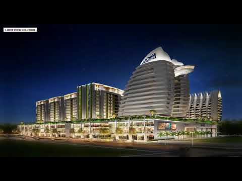 Shree Balaji Agora Citycentre Night View With Ultra Modern Lighting