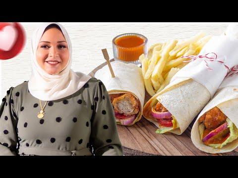 تشيكن راب رول ,, ساندوتش المطاعم المشهور مع تقى صلاح