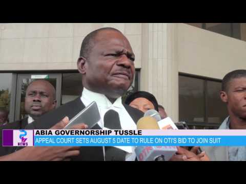 Appeal court sets August 5 date to rule on Oti`s bid to join suit