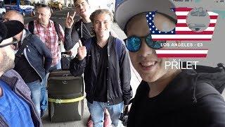 Jirka s YouTubery na E3 - Přílet do Los Angeles [ VLOG ]