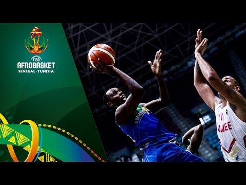 Guinea v Rwanda - Full Game - FIBA AfroBasket 2017