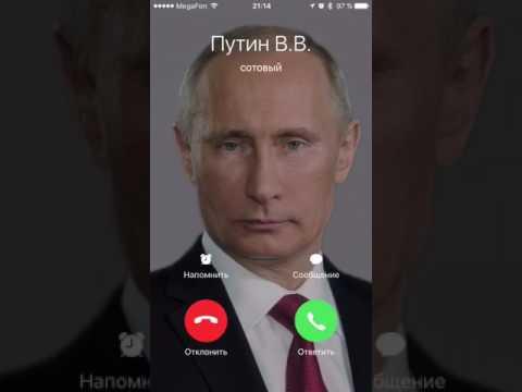 Putin zvonit