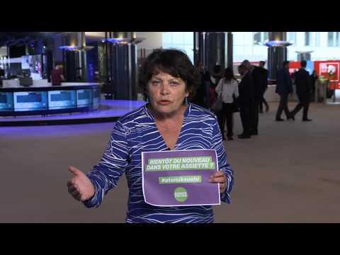 "Michèle Rivasi : ""AtomikSushi, non merci !"""