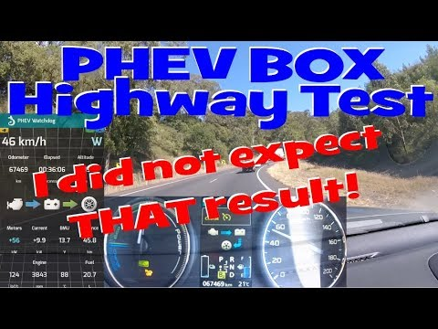 EP71 - Outlander PHEV-Box Highway Drive ends UNEXPECTED + FREE Give-Away