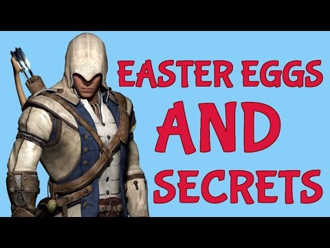 Assassin's Creed 3 - All Easter Eggs and Secrets Collection