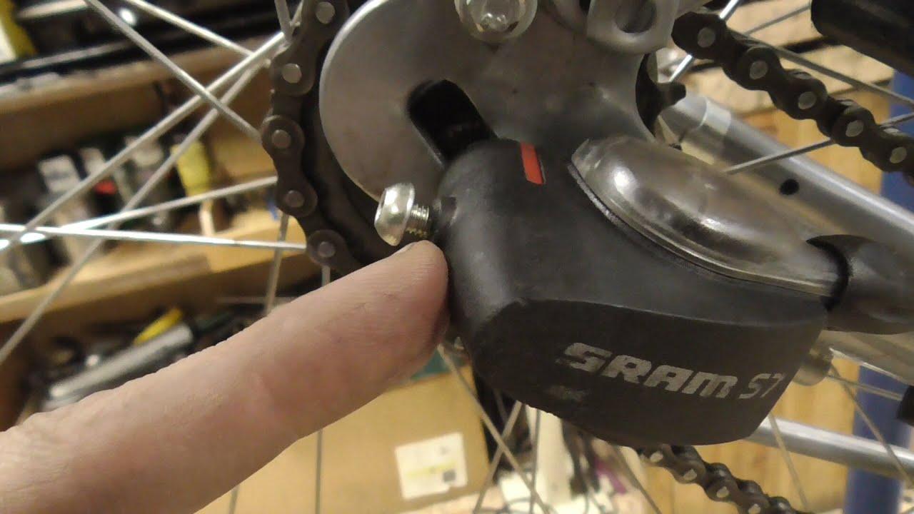 Ремонт переключателя планетарной втулки sram S7