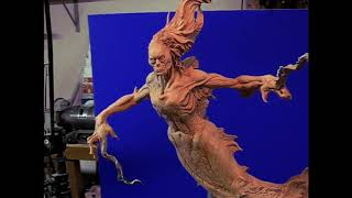 Evil Mermaid: Character Design: Sketch & Maquette by Don Lanning