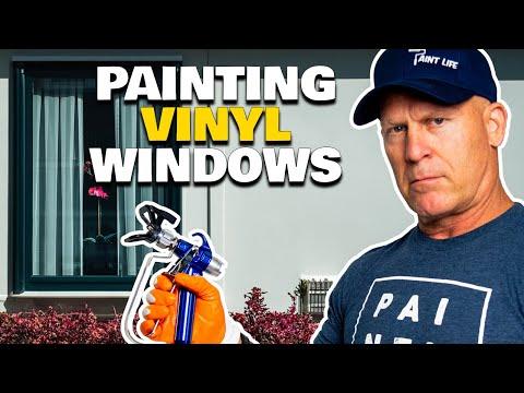 Painting VINYL Windows. Is it POSSIBLE?