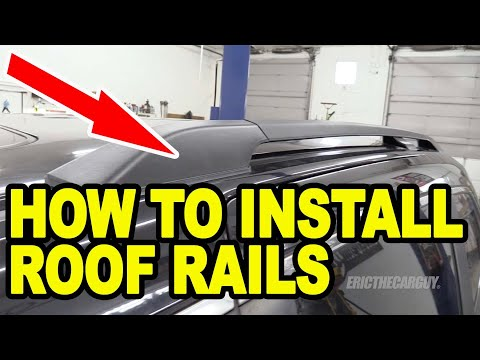 How To Install Roof Rails Honda Odyssey