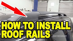 How To Install Roof Rails Honda Odyssey