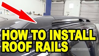 Фото с обложки How To Install Roof Rails Honda Odyssey