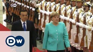 ميركل: نحتاج إلى مناخ قانوني آمن في الصين   الأخبار